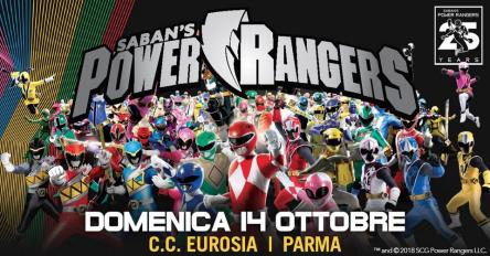 I Power Rangers a Parma