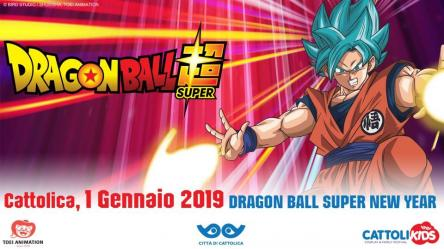 Dragon Ball Super New Year a Cattolica